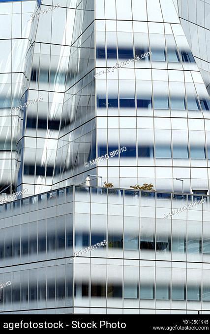 New York. Manhattan. Modern architecture in Chelsea