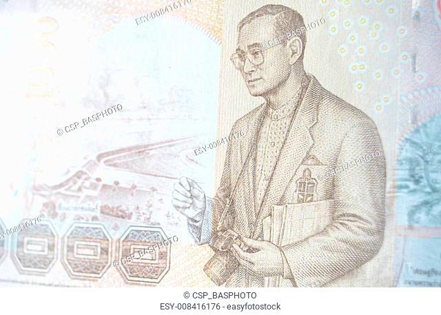 Photographer King banknote, Thailan