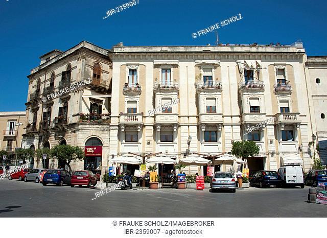 Historic town centre, Siracusa, Syracuse, Ortigia, Ortygia Island, Sicily, Italy, Europe
