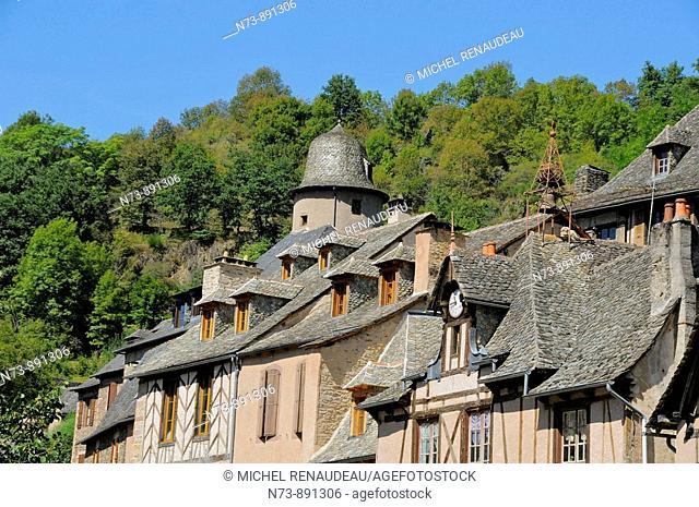 Conques, Aveyron, Midi-Pyrenees, France