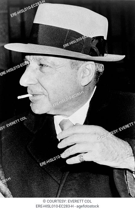 Meyer Lansky 1902-1983, reached the executive level in the mob and managed to avoid prison throughout his life. Lansky was portrayed by Lee Strasberg in...