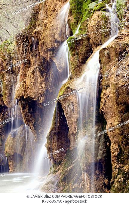 River Cuervo source. Serranía de Cuenca. Cuenca province. Castilla-La Mancha. Spain