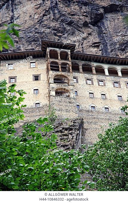 Turkey, Sumela monastery, Altindere Vadisi Milli Parki, Altindere valley, view, architecture, outside, outdoors, histo