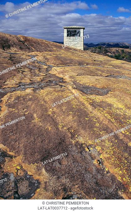 Cecil Rhodes' grave is in a place which he asked to be named 'View of the World', which is as a spirit dwelling-place. It is on a flat mountain top and commands...