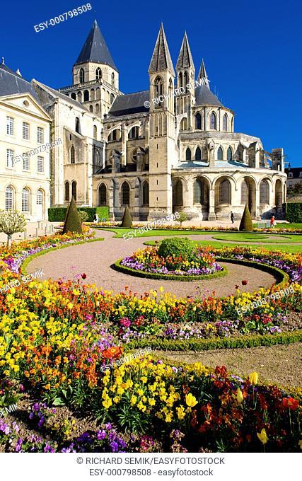 church of Saint Étienne, L'Abbaye Aux Hommes, Normandy, France