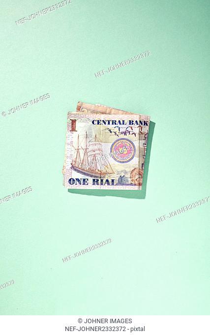 Banknote, studio shot