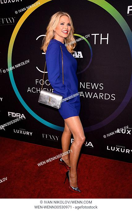 30th Footwear News Achievement Awards at IAC Headquarters - Red Carpet Arrivals Featuring: Christy Brinkley Where: New York, New York