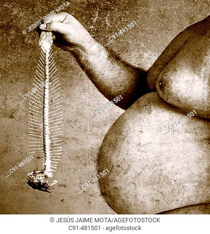 Obesity and fishbone