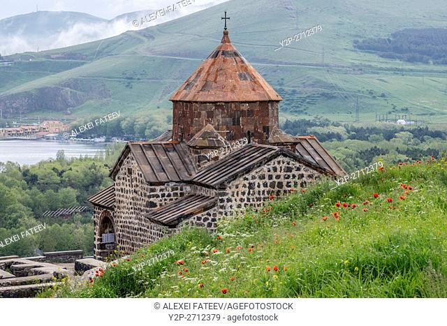 Surb Arakelots church at Sevanavank monastery in Armenia