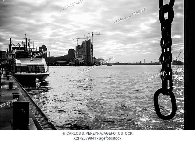 Hamburg harbor, Germany