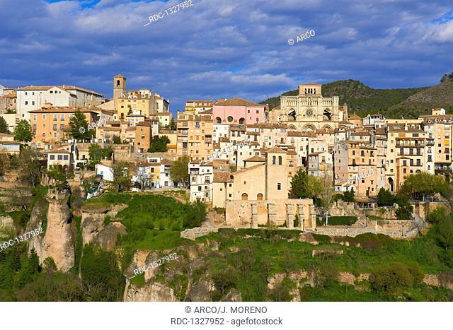Cuenca, Cathedral, Jucar river gorge, UNESCO World Heritage Site, Castilla-La Mancha, Spain