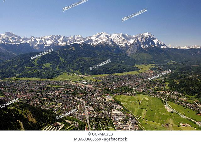 Garmisch-Partenkirchen and Wetterstein Range