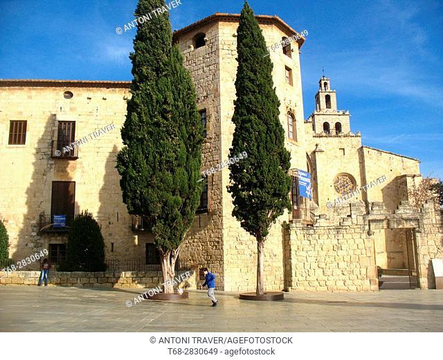 Monastery of Sant Cugat, Sant Cugat del Vallés, Barcelona province, Spain
