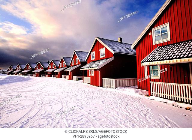 Svolvear district, Lofoten islands, Norway