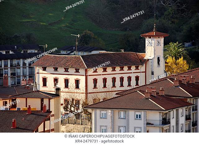 Escuelas de San Miguel, Mutriku, Gipuzkoa, Spain