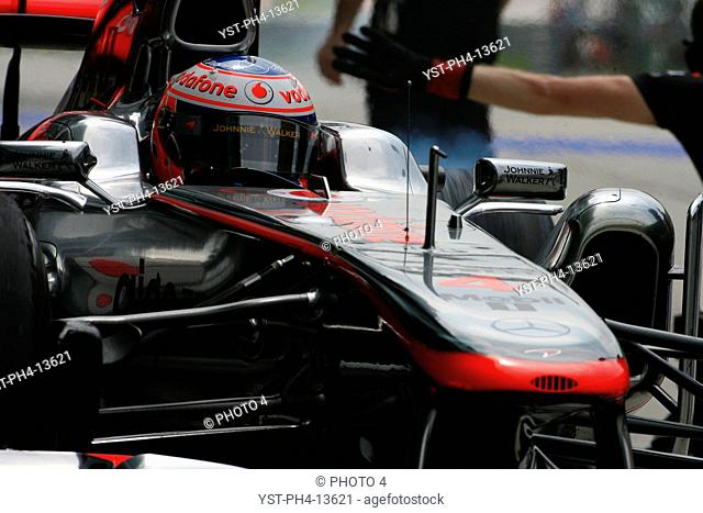 Jenson Button, Malaysian Grand Prix, Sepang, Malaysia