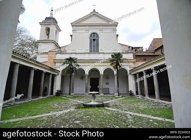 Rome Italy Basilica di San Clemente