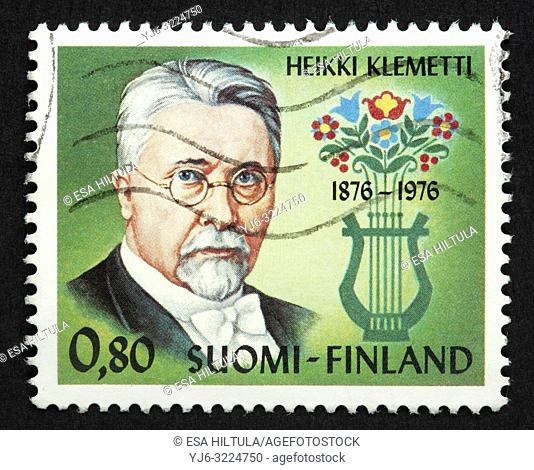 Finnish postage stamp