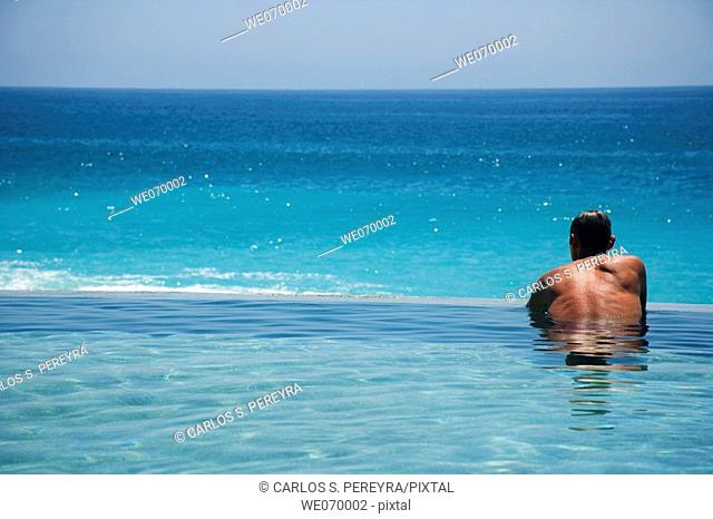 Swimming pool, Los Cabos. South Baja California, Mexico