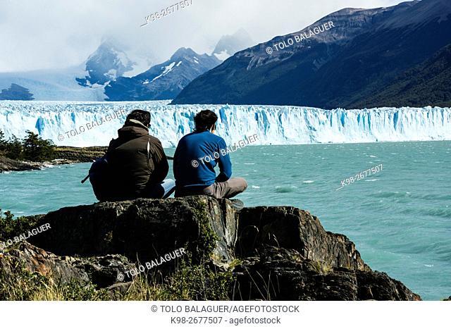Argentina, Patagonia, Santa Cruz province, Los Glaciares National Park, Perito Moreno Glacier