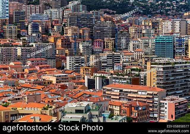 Cityscape of Monaco - travel and architecture background
