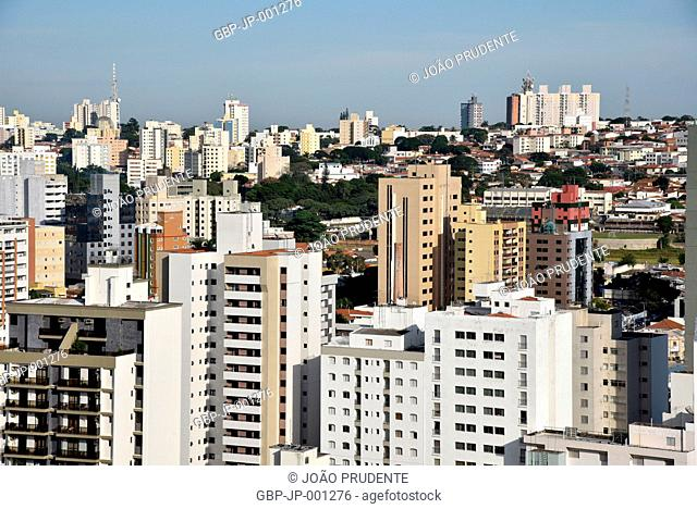View from above, buildings, 2017, center, Campinas, Sao Paulo, Brazil
