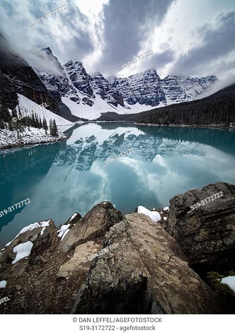 Canadian Rockies. Moraine Lake