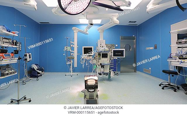 Empty operating theatre , General Emergency Surgery , Hospital