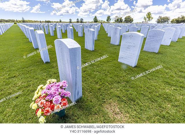 Sarasota National Cemetery in Sarasota Florida United States