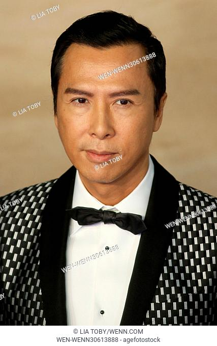 'Rogue One: A Star Wars Story' London premiere held at the Tate Modern - Arrivals Featuring: Donnie Yen Where: London, United Kingdom When: 13 Dec 2016 Credit:...