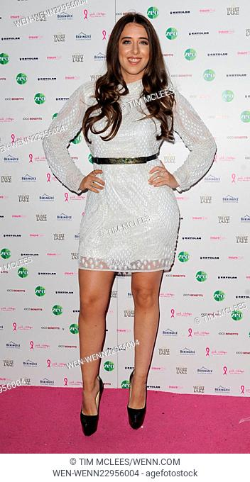 various celebrities attend Pink Ribbon Foundation launch Party Featuring: Ella Jade Bitton Where: London, United Kingdom When: 29 Sep 2015 Credit: Tim...