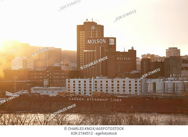 Molson brewery, Montreal, Quebec, Canada