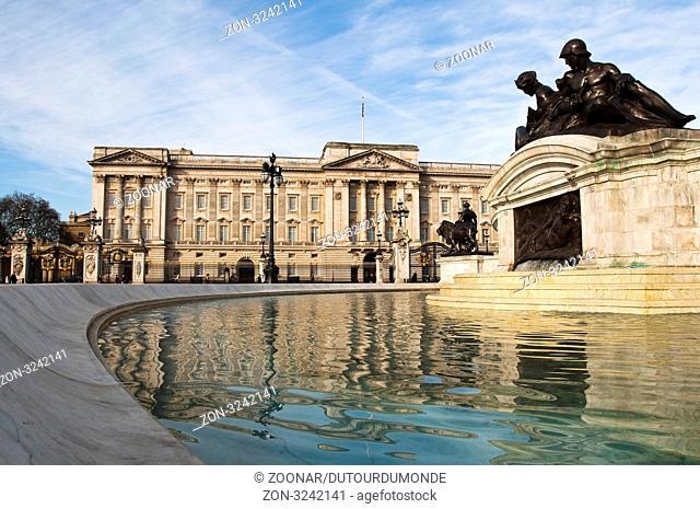 Buckingham Palace in London, UK