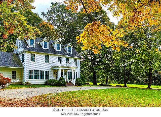 USA ,Massachusetts, Berkshire District, Near Lenox City , House