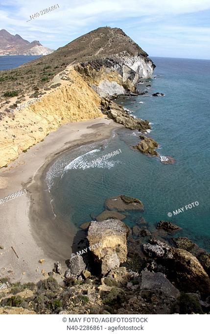 Los Amarillos beach, Cabo de Gata, Almería