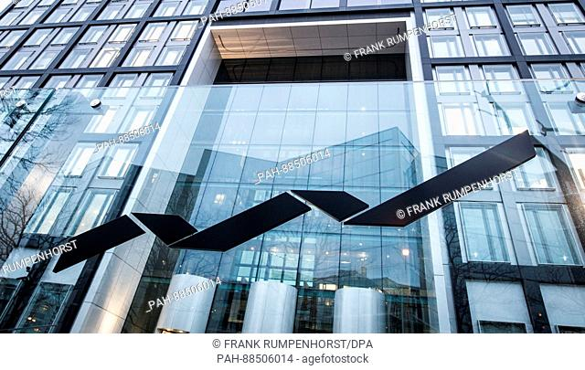View of the headquarters of the Deutsche Boerse (German Stock Exchange) in Eschborn, Germany, 27 February 2017. The planned merger of the Deutsche Boerse and...