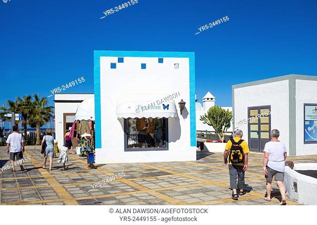 Marina Rubicon, Playa Blanca, Lanzarote, Canary Islands, Spain