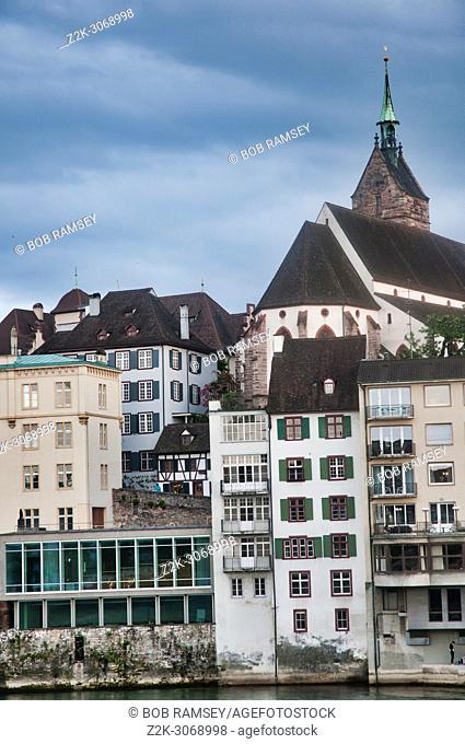 Detail from an urban scene in Basel-Switzerland