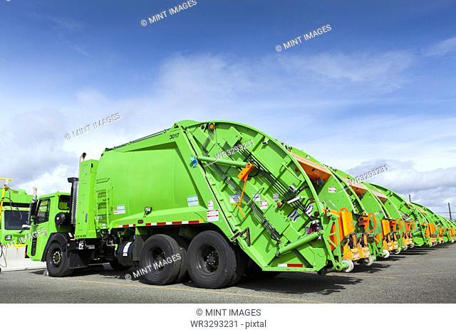 Garbage Truck Fleet