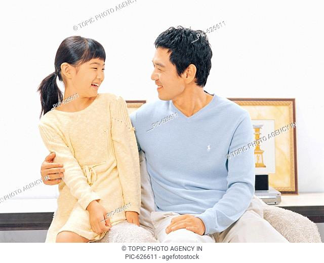 Father and Daughter, Korea