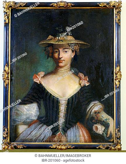 Franconian Museum Feuchtwangen Middle Franconian Bavaria Germany oil painting Friederike Luise margravine of Ansbach 1714-1784