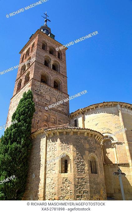 San Andres Church, Segovia, UNESCO World Heritage Site, Spain