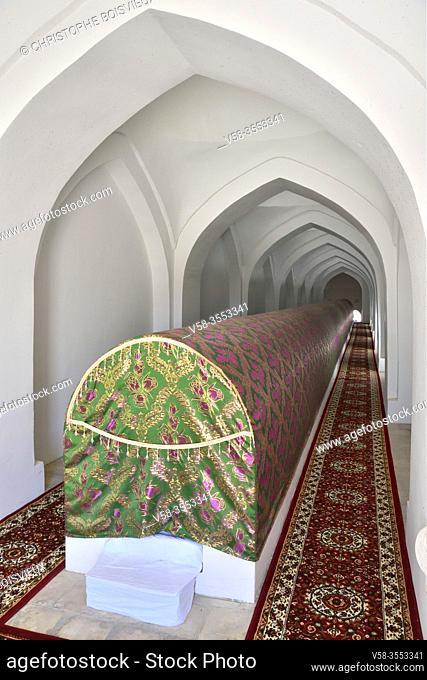Uzbekistan, Autonomous republic of Karakalpakstan. Nukus region, Nazlimkhan Sulu mausoleum (12th-14th C), Shamu Nabi tomb