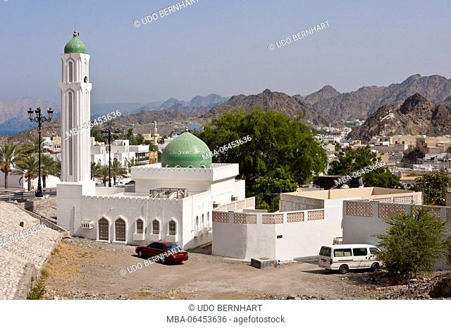 Arabia, Arabian peninsula, Sultanate of Oman, Muscat, Sidab Village, mosque