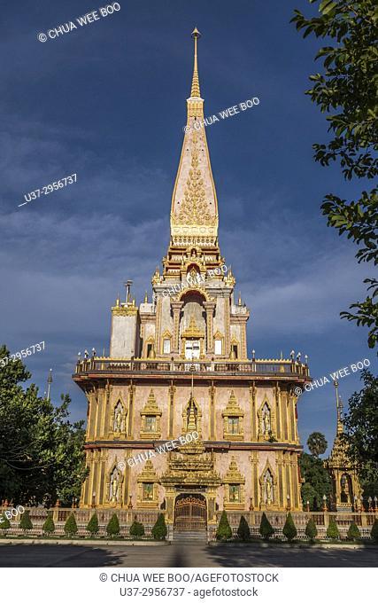 Temple Wat Chalong, Insel Phuket, Thailand