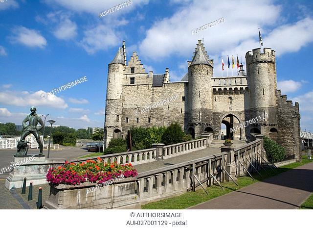 Belgium - Flanders - Antwerp - The Steen - Castle - National Museum of Navigation