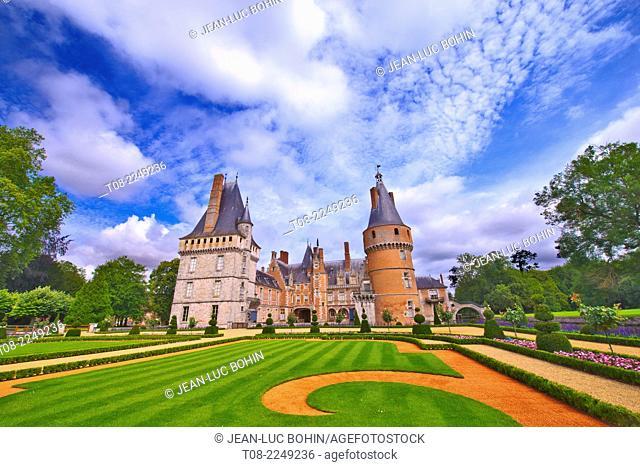 france, 28 : maintenon castle & garden