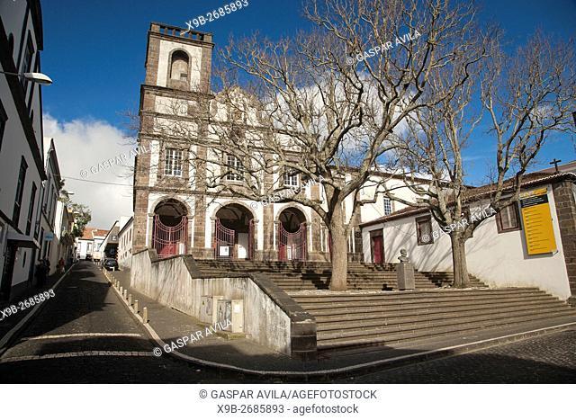 Church of Nossa Senhora da Graça, in the city of Ponta Delgada. Sao Miguel island, Azores, Portugal