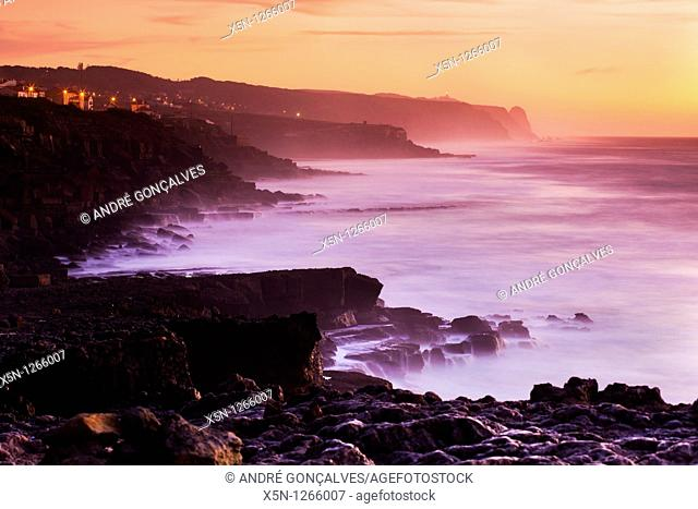 Sunset in the Portuguese Coast