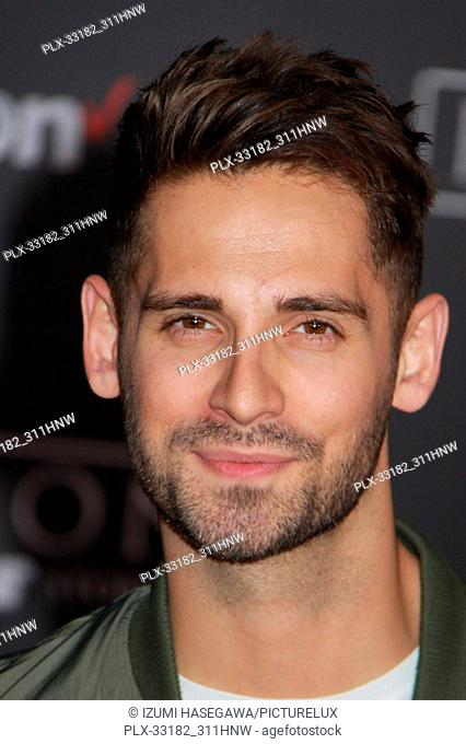 """Jean-Luc Bilodeau 12/10/2016 The World Premiere of """"""""Rogue One: A Star Wars Story"""""""" held at the Pantages Theatre in Los Angeles"""
